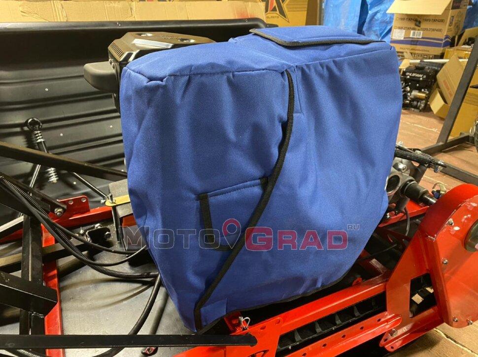 Чехол для двигателя мотобуксировщика 15-20 л.с. против обмерзания