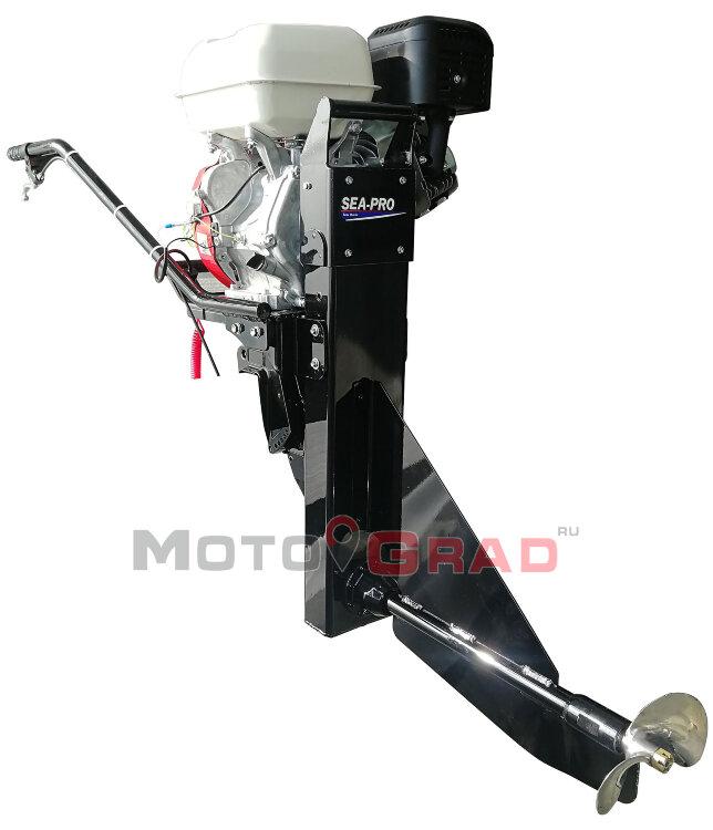 Лодочный мотор болотоход SEA-PRO SMF-18 л.с.