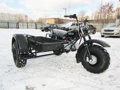 Мотоцикл Скаут 3 140 кубов с задней передачей 3+1