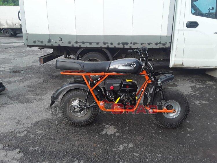Мотоцикл Скаут Сафари 3 LUX (Мотоград Limited Edition)