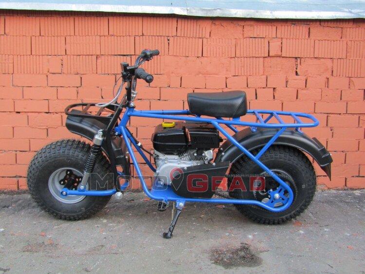 Мотоцикл Скаут Сафари - 2  6.5 Bigfoot (ув.колеса 20х7-8) передняя подвеска