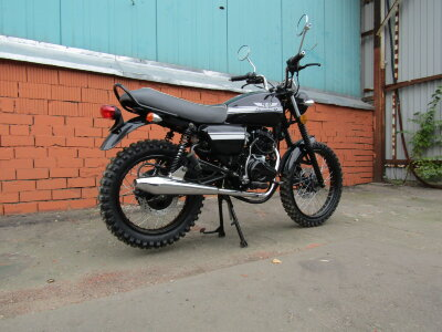 Мотоцикл Scrambler-II 200 агрессивная резина