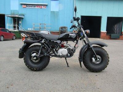 Внедорожный мотоцикл Скаут 3 140 Vorteх (с панелью приборов и поворотниками)