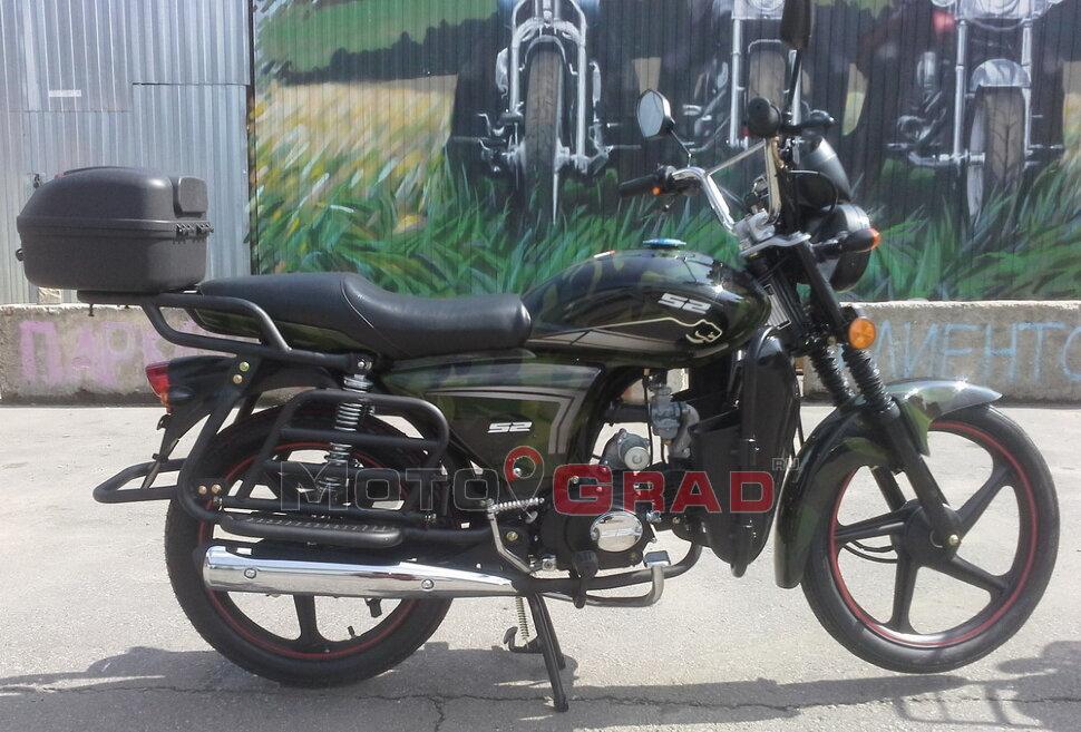 Мотоцикл S2 motors Альфа Ягуар 110cc (лесник)