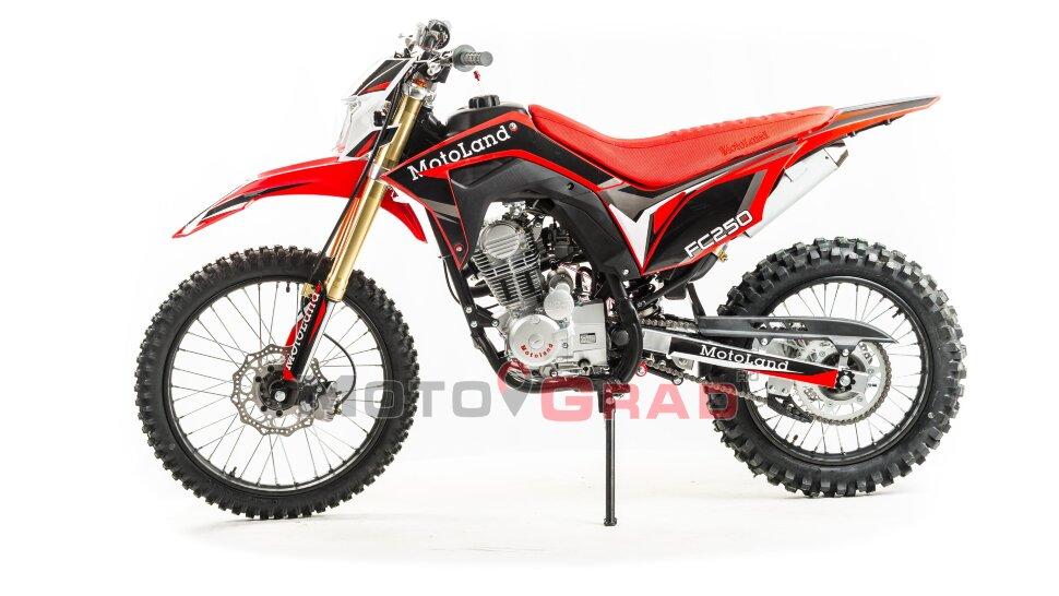 Мотоцикл кроссовый Motoland FC 250