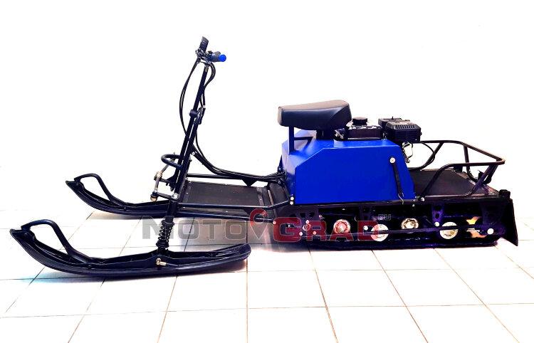 Мотобуксировщик Лидер - Сигма - 2К, 8.0 л.с, с лыжным модулем