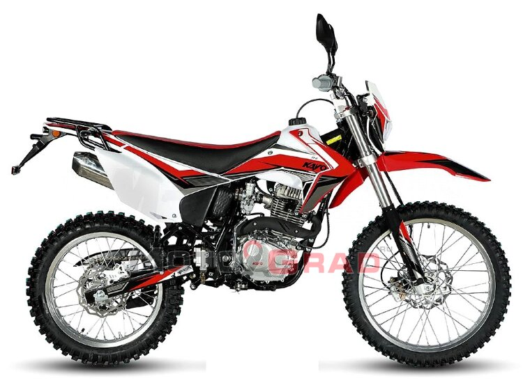 Мотоцикл кроссовый KAYO T2-G 250 ENDURO 21/18