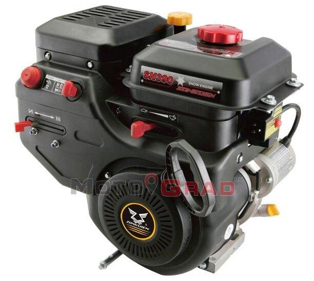 Двигатель бензиновый Zongshen SN390 13 л.с.