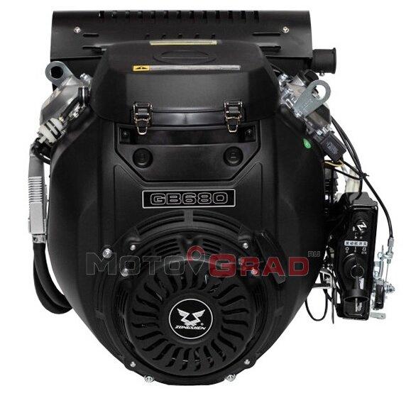 Двигатель бензиновый Zongshen GB750E 30 л.с.
