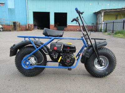 Мотоцикл  Скаут Сафари Bigfoot 6.5 (ув.  колеса 20х7-8)