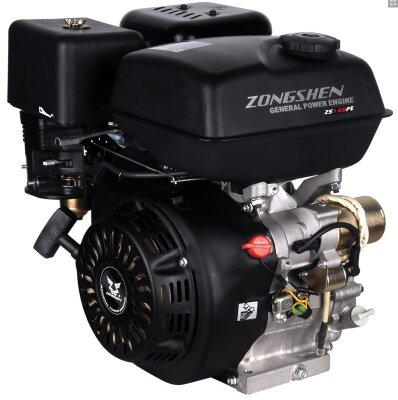 Двигатель бензиновый Zongshen 168FBE-4 6,5 л.с.
