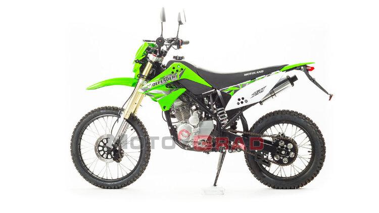Мотоцикл кроссовый Motoland DEFENDER 150