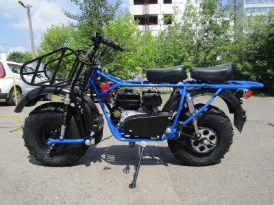 Мотоцикл внедорожный СКАУТ - 2 PLUS - 8Е, 2х1, с перед. и задн. подвеской (8 л.с.)