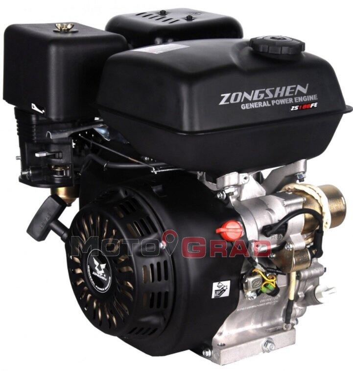 Двигатель бензиновый Zongshen 177FE 9.0 л.с.