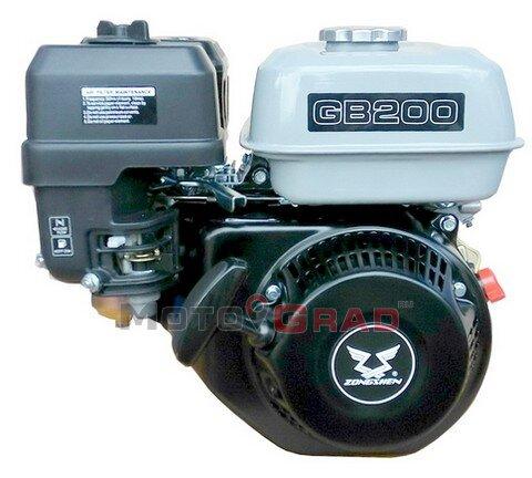 Двигатель бензиновый Zongshen GB 200S 6.5 л.с.