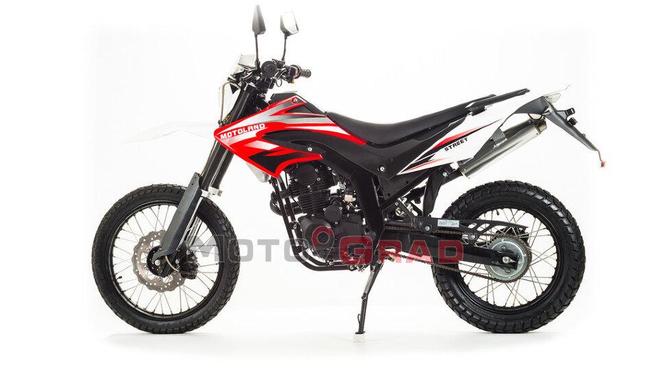Мотоцикл кроссовый Motoland STREET 250