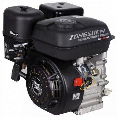 Двигатель бензиновый Zongshen 168 FB-2 6.5 л.с.
