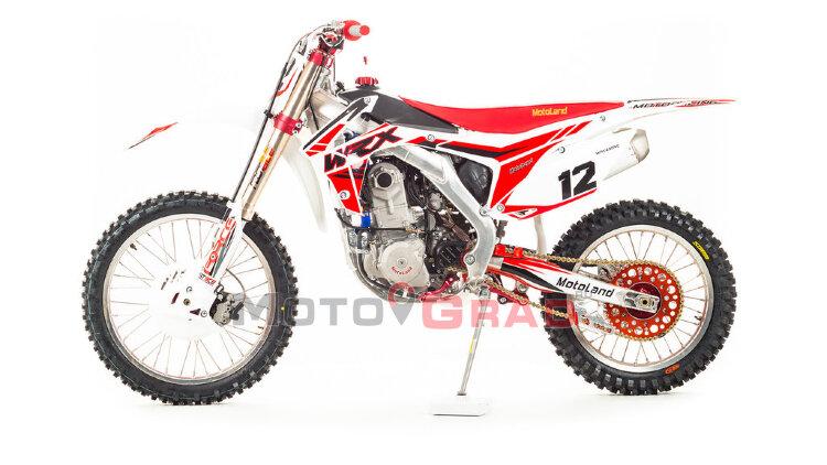 Мотоцикл кроссовый Motoland WRX450 NC