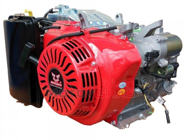 Двигатель бензиновый Zongshen 190F-2 15 л.с.