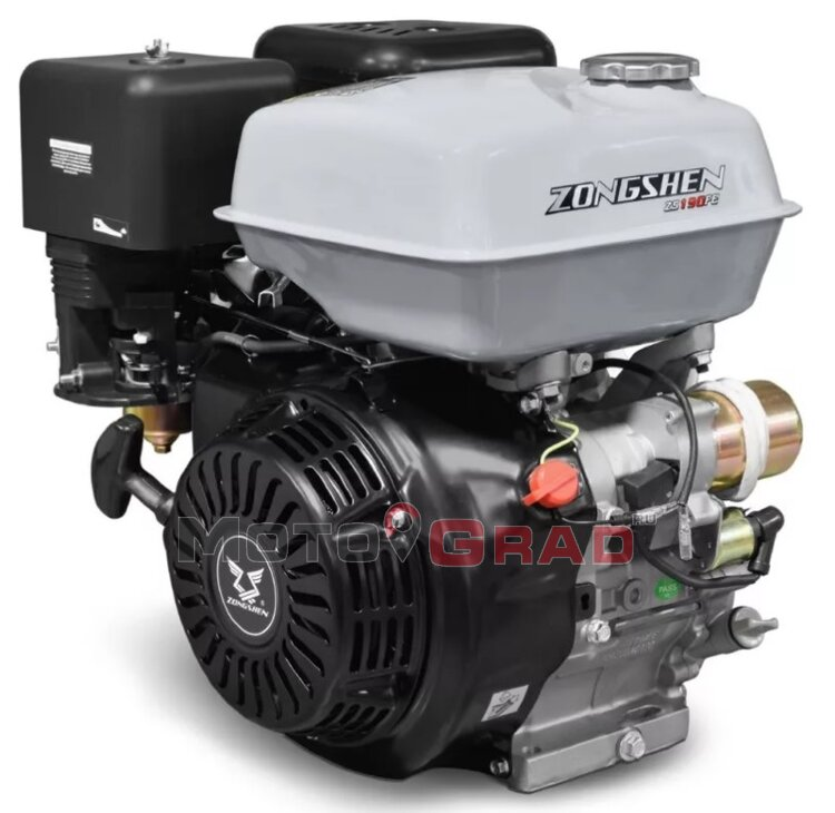 Двигатель бензиновый Zongshen 190FE 15 л.с.