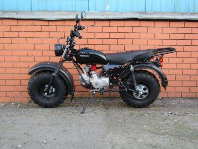 Внедорожный Мотоцикл СКАУТ 3 125 VORTEX (с приборкой, поворотниками)