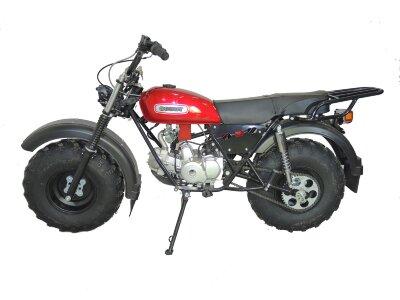 Внедорожный мотоцикл Скаут-3М. механика 125сс