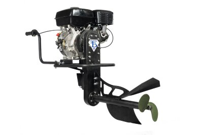 Лодочный мотор болотоход БУРЛАК - 9 л.с. Lifan